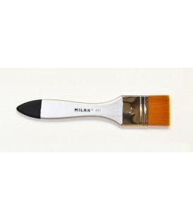 03) Pennellesse sintetica Premium Milan serie 631 - 40 mm