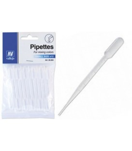 Pipettes small size 12 pc. (1 ml)