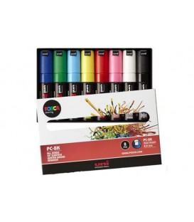 Posca Marker Pen Kits 8 pcs. PC-8K