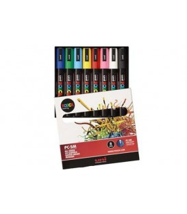 Posca Marker Pen Kits 8 pcs. PC-5M