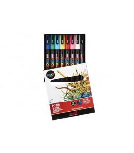Posca Marker Pen Kits 8 pcs. PC-3M