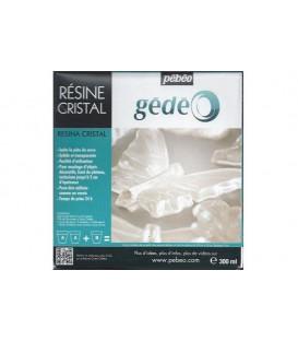 Resina Cristal Gedeo 300 ml.