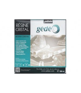 Resine Cristal Gedeo 300 ml.