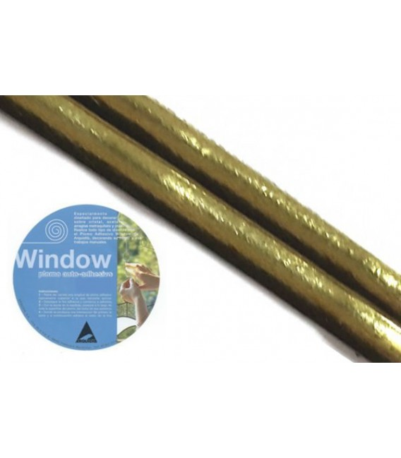 Plom adhesiu per a vidrieres Window 3x20 Llauto