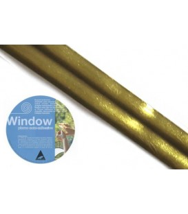 Adhesive lead strip for windows Window 3x20 Satin Brass