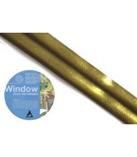 Plomo adhesivo para vidrieras Window 3x20 Laton Mate