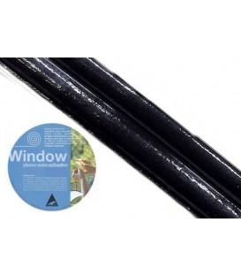 Plomo adhesivo para vidrieras Window 3x20 Negro