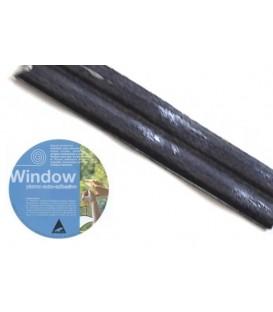 Plomo adhesivo para vidrieras Window 3x20 Plomo Oscuro