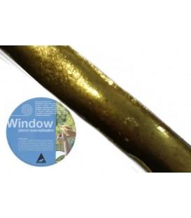 Plomo adhesivo para vidrieras Window 6x10 Laton