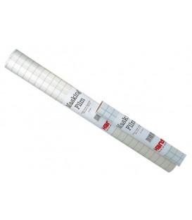 d) Pellicola adesiva per mascheratura aerografia opaco 60 cms x