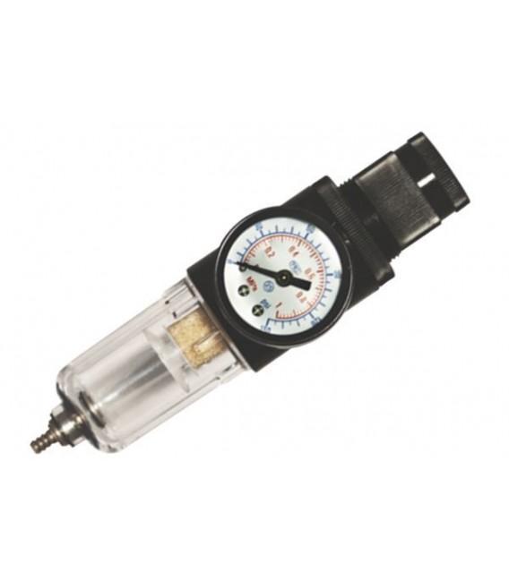 Filtre et regulateur d'air pour compresseur