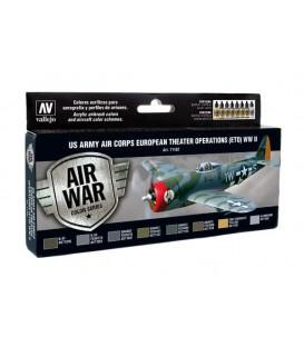 Set Vallejo Model Air 8u. 17 ml. US Army Air Corps ETO WWII