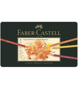 c) Astuccio metallo 36 matite Polychromos Faber-Castell