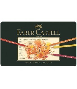 c) Caixa metall 36 llapis Polychromos Faber-Castell