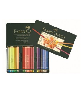 d) Polychromos Faber-Castell 60 Pencils Metal Box