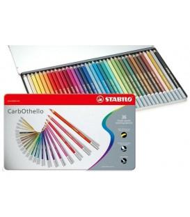 c) Caixa metall 36 llapis Pastel STABILO CarbOthello