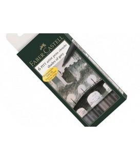 Greys Faber Castell 6 Marker Pens Set