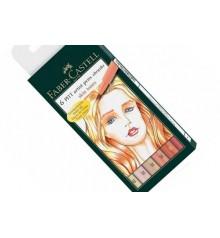 Skin Faber Castell 6 Marker Pens Set