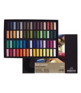 Estoig cartro 60 mitjos pastels Rembrandt 300C60.5