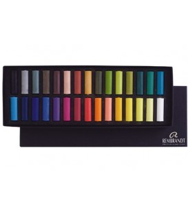 Boite carton 30 demi-pastels Rembrandt 300C30.5