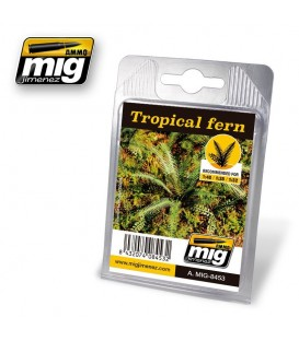 Tropical fern AMMO Mig Jimenez.