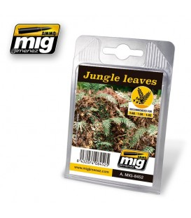 Jungle leaves AMMO Mig Jimenez.