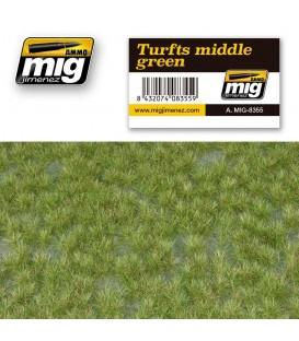 Turfs middle green AMMO Mig Jimenez.