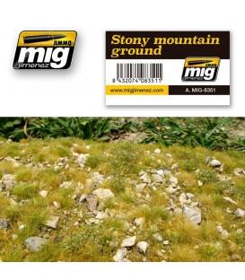 Terra de muntanya pedregosa AMMO Mig Jimenez.