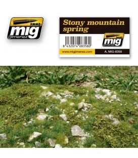 Terra de muntanya - Primavera AMMO Mig Jimenez.