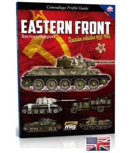 """Llibre """"Eastern front. Russian Vehicles 1935-1945""""."""