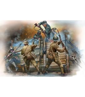 Combat cos a cos, infanteria alemanya i britanica - 35116