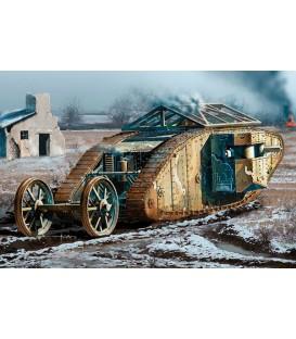 "MK I ""Female"" 1/72 British Tank Somme Battle period, 1916-72002"