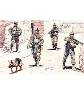 Infantaria US moderna. Cordão e pesquisa - 35154