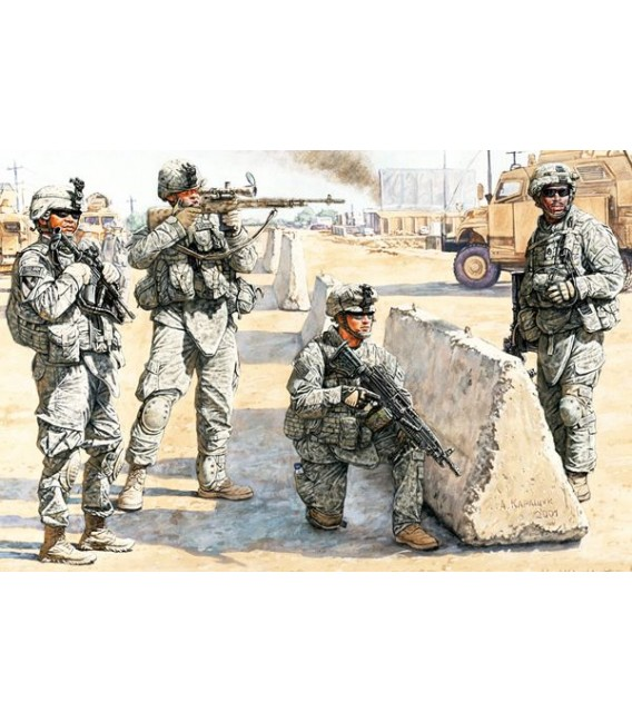 US Check Point in Iraq-3591