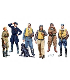 Pilots Famosos WWII. Kit 1 - 3201
