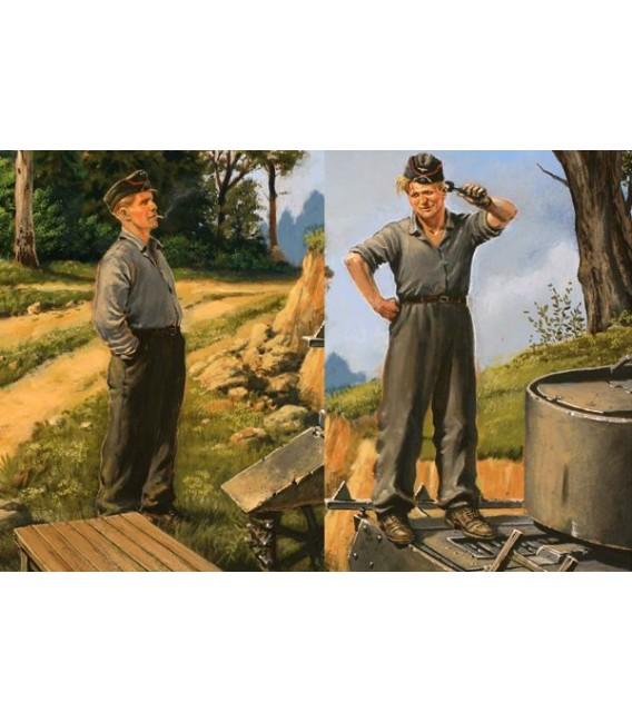 German tank repairmen (1940-1944) - 3509