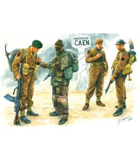 British troops, Caen 1944 -3512