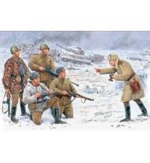 Russian Infantry. Korsun-Shevchenkovskiy, 1944 - 3529