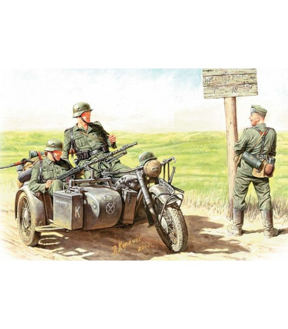 German Motorcyclists, (1940-1943) - 3539