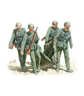 Casualty Evacuation, German Infantry, Stalingrad, Summer 42-3541