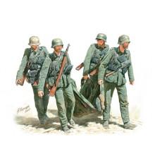 Casualty Evacuation, German Infantry, Stalingrad, Summer 42-3541