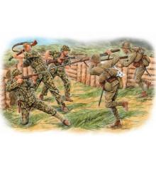 Hand-to-hand combat, Tarawa, November 1943 - 3544