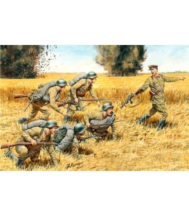 Counterattack, Soviet Infantry, Summer 1941 - 3563