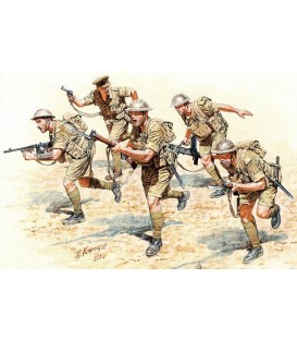 British Infantry in Action, Northern Africa WWII, 3580