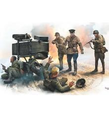 Accident. Soviet & German military men, Summer 1941 - 3590