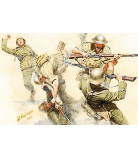 Hand-to-hand fight British & German Infantry, Kit 1 - 3592