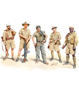 Allied Forces, WWII, North Africa, Desert Battles Series - 3594
