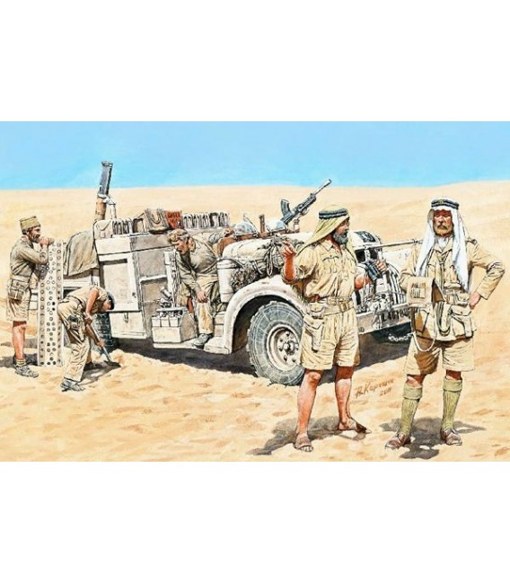 LRDG in North Africa, WWII - 3598