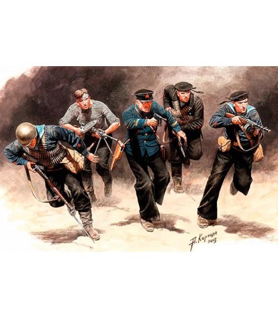 Soviet Marines, Attack, 1941-1942, Eastern Front Battle-35153