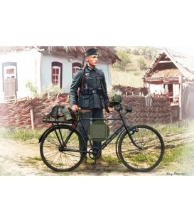 German Soldier-Bicyclist, 1939-1942 - 35171